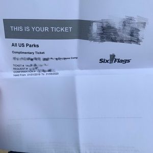 Six Flags Anyday tickets